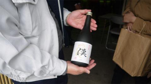 純米吟醸酒「漢」の完成祝賀会に参加しました